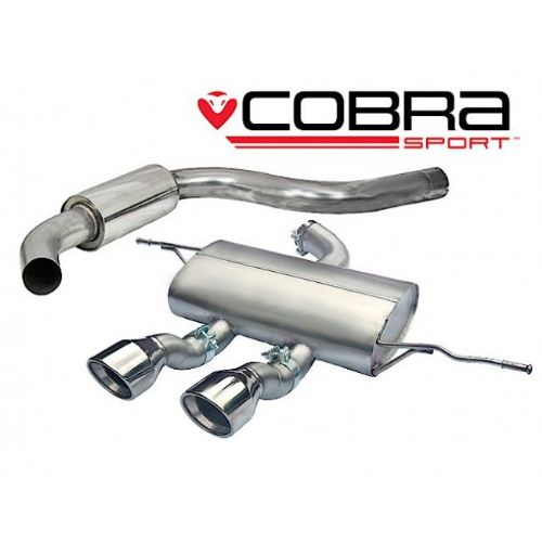 Seat Leon Cupra R Cat Back Exhaust (Resonated) SE28